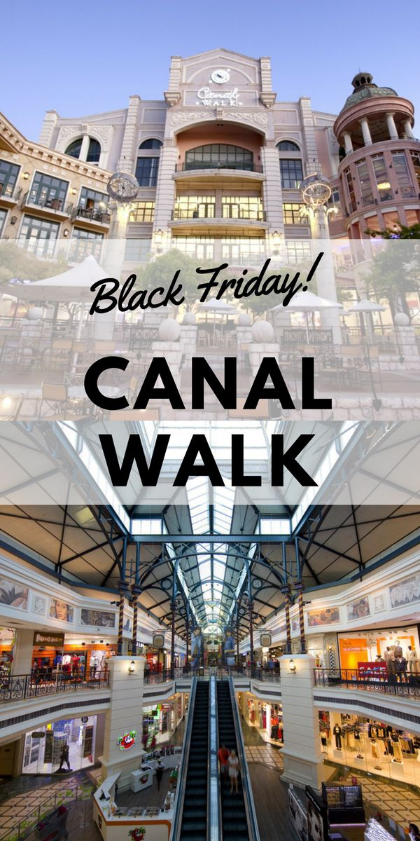 Canal Walk Shopping Centre have partnered with the stores it houses to bring you a massive Black Friday sale. Don't miss out on amazing discounts and deals at your favourite stores this Black Friday, all in one convenient place. #blackfriday #southafrica #capetown #canalwalk