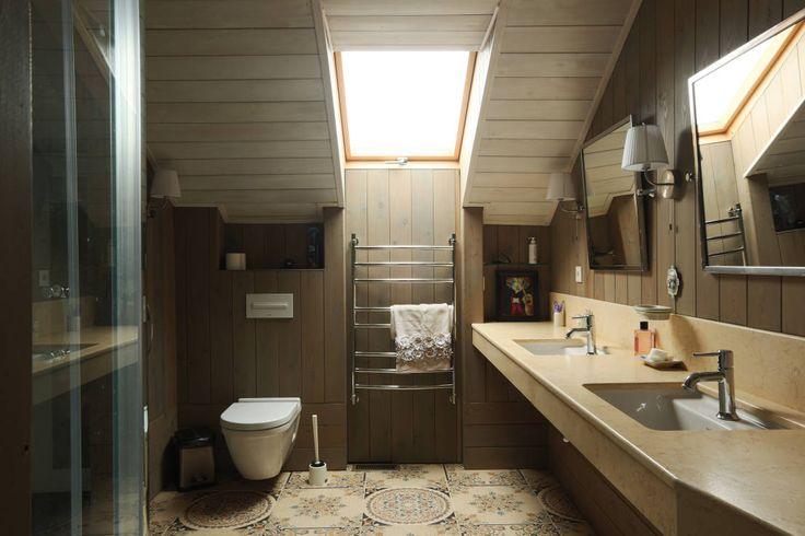 Ванная комната : Ванная комната в эклектичном стиле от ORT-interiors