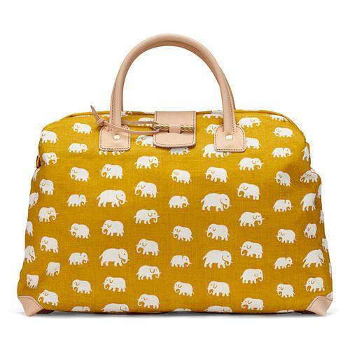 mustard yellow elephants