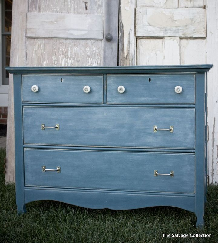 45 Best Chalk Paint Aubusson Blue Images On Pinterest