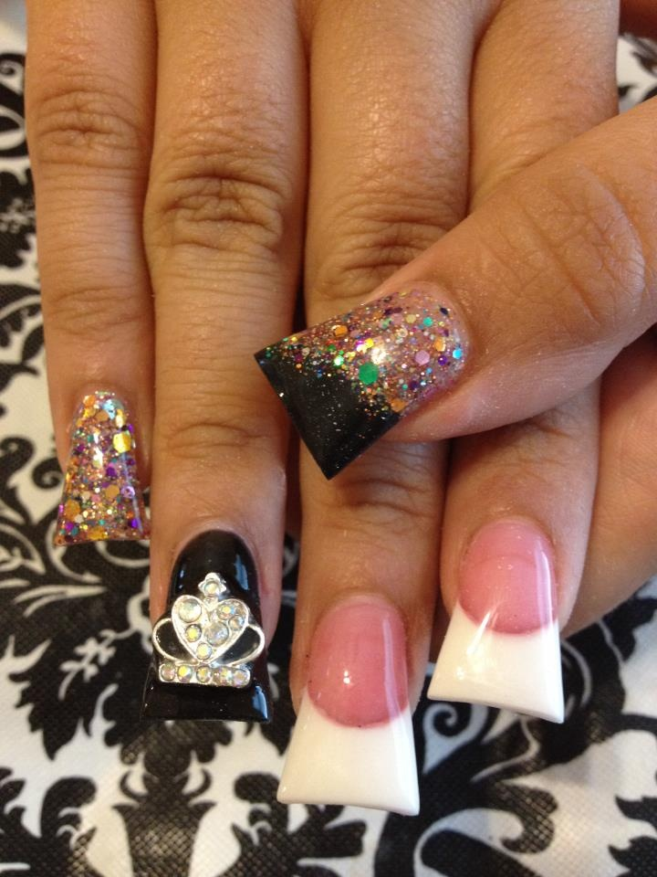 45 best duck nails images on Pinterest | Bling nails, Acrylic nail ...