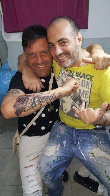 #amedeo_remi #tattoomango