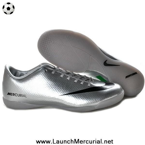 authentic silver black green nike mercurial vapor ix ic
