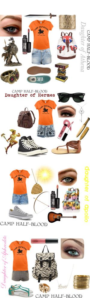 """Camp Half-Blood"" by mkcf on Polyvore"