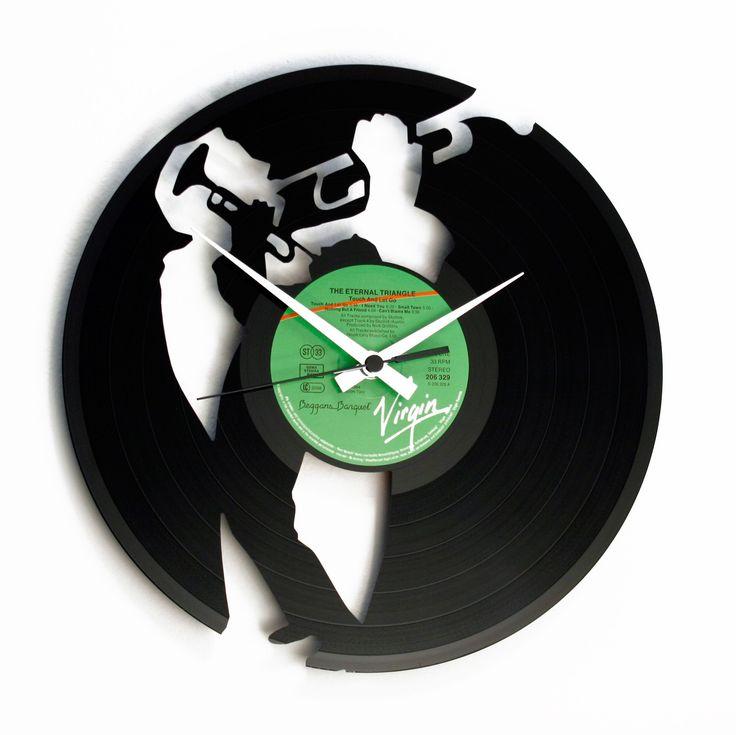 Disc'O'Clock Ceas de perete Jazz