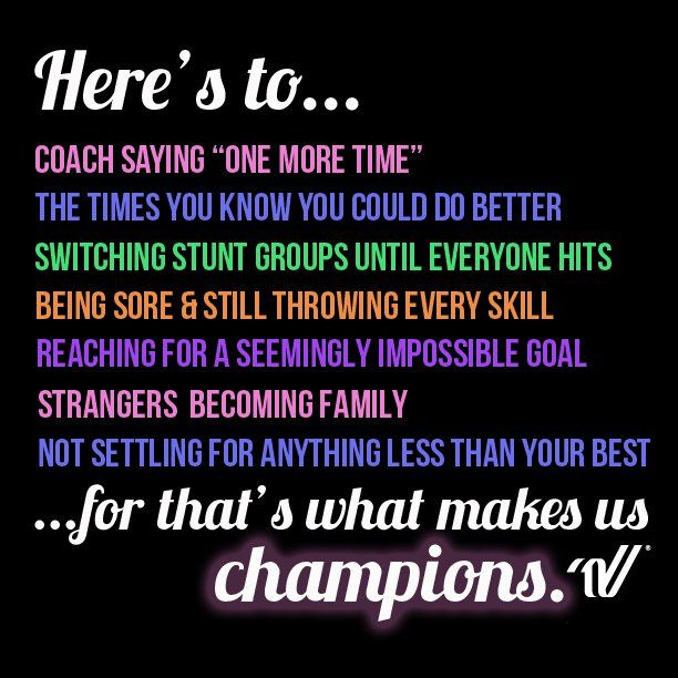 Inspirational Quotes For Cheerleaders Insta Quotes