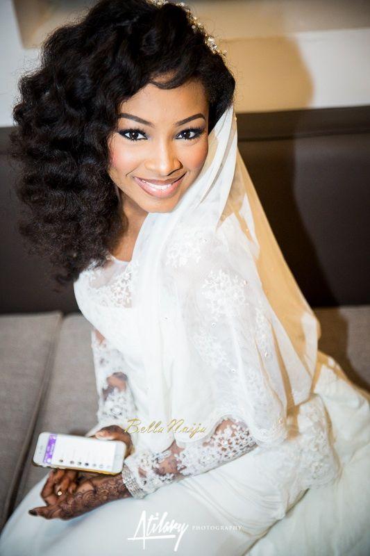 Beautiful BellaNaija Bride Safiya Aliyu Rocking Natural Hairdo | Atilary Photography