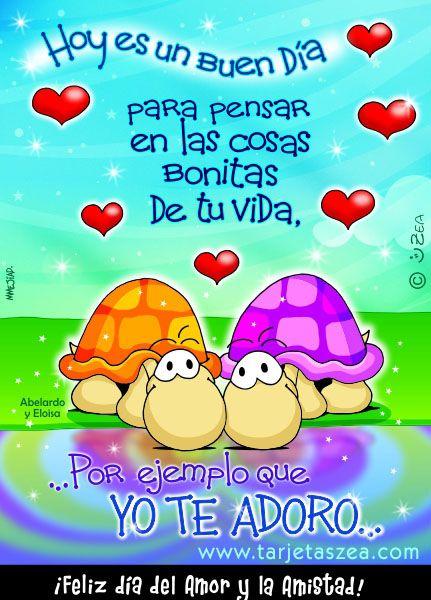 feliz dia del amor y la amistad Google Search Dia de los Padres! Pinterest Amor and Search