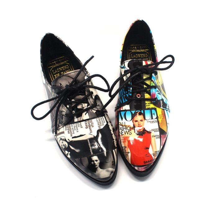 Goedkope Vrouwen lakleder puntschoen britse stijl oxford dame loafer schoenen voor picturale stijl casual platte schoenen, koop Kwaliteit vrouwen flats rechtstreeks van Leveranciers van China:  Elegance buckle strap design British brogue vintage  casual lady dress women flat  student shoes S14908USD 28.80/