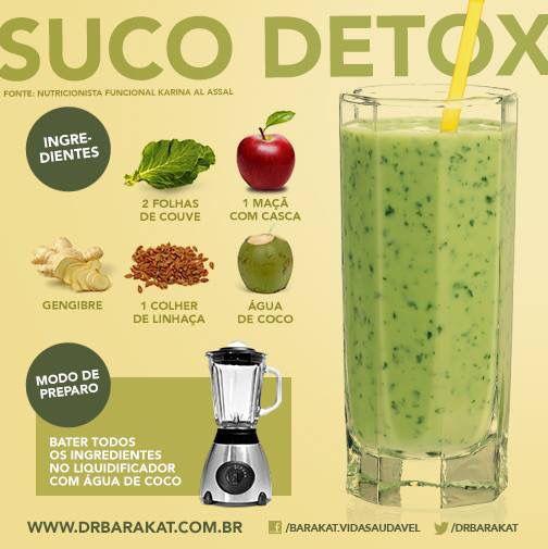 Suco Detox Dr Barakat