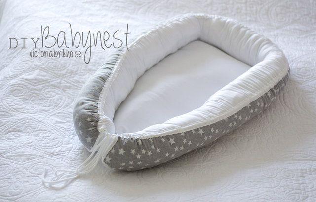 DIY babynest – victoriabrikho.se