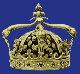 France, Dauphin's Crown, 1823Dauphin Crowns, Dauphin Louis, Royal Crowns, Diadem Crowns Tiaras, Louis Antoine, 1825, Crowns Jewels French, France, Royal Jewels