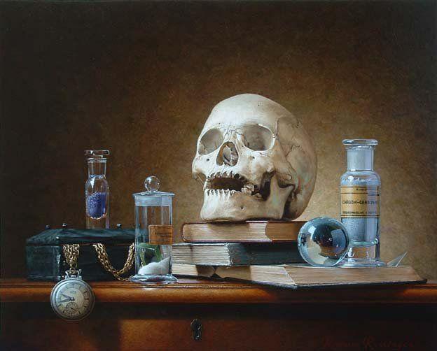 still life - Vanitas by Roman Reisinger
