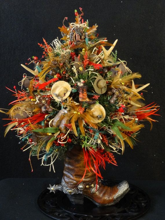 Country Western Christmas TreeCowboy by DesignsbyHEartWorks