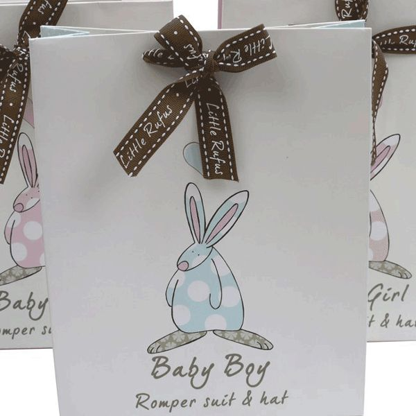 Rufus Rabbit bag til babydress