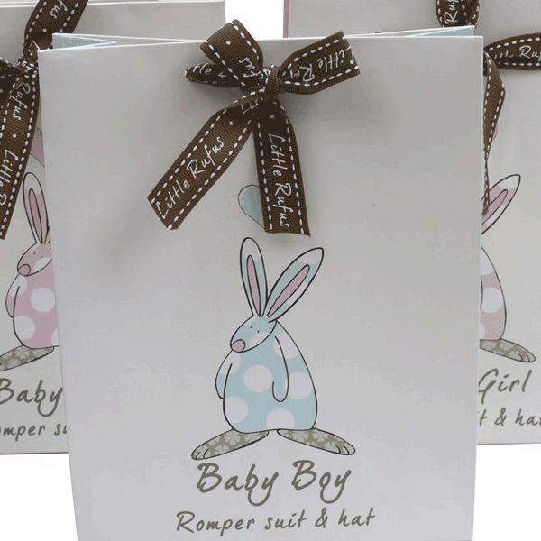 Rufus Rabbit bag til babydress