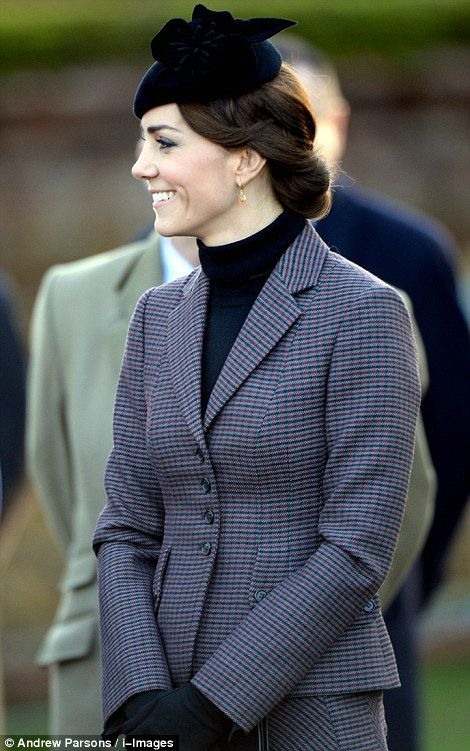 Highlights from Kate's 2015 public engagements include her inaugural Buckingham Palace state banquet - in honour of China's visiting President Xi Jinping - and her first visit to a prison, HMP Send near Guildford, Surrey