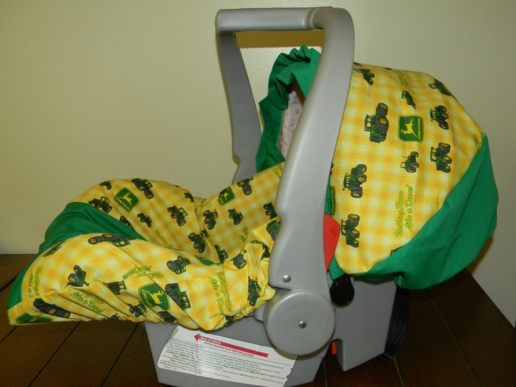 John Deere Tractor Fabric Infant Car Seat Cover Amp Canopy