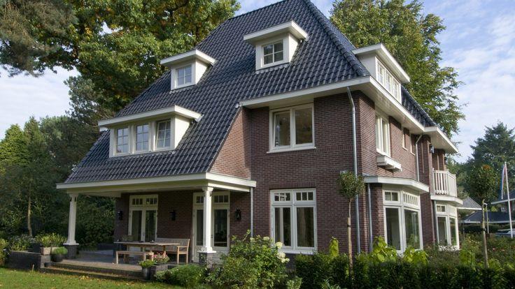 Villa Brediuskwartier Bussum | Achtergevel