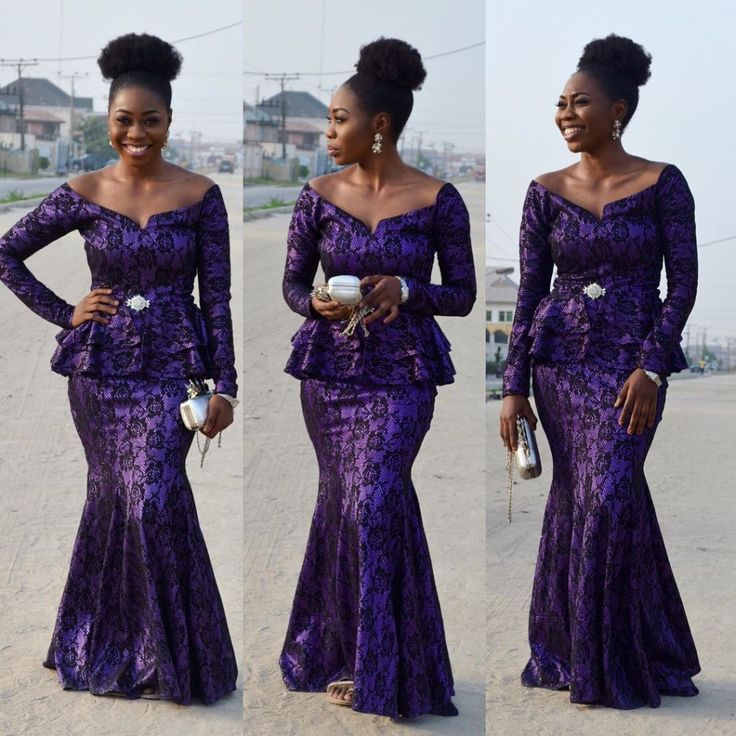 Nigerian Fashion Lace Styles Images