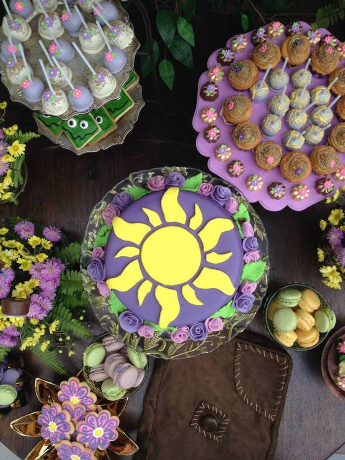 Rapunzel + Tangled Inspired Birthday Party