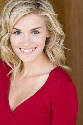 """Emily Rose, an actress best known for her lead role in the TV show """"Haven"""", with a serious education in acting from Vanguard, Oxford, and UCLA, and I think she's gorgeous and very talented. Also, I really like her hair... lol"""