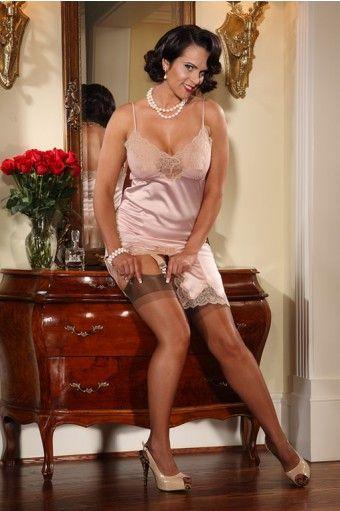 foto de Cassandra Full slip pink I Love Secrets in Lace Pinterest Shops Red and Pink
