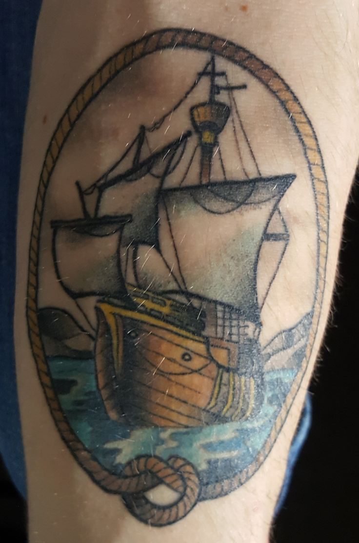 Fully Healed Traditional Ship (Andrew Warren @ Trouble Bound St. John's NL)