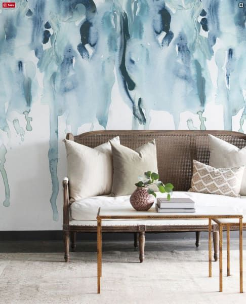 Gorgeous Affordable Peel Stick Wallpapers To Brighten Up Your Home Wall Murals Hand Painted Wallpaper Wall Decor