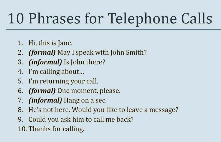 Learn English Team: Most Useful Telephone Vocabulary and Phrases List in English