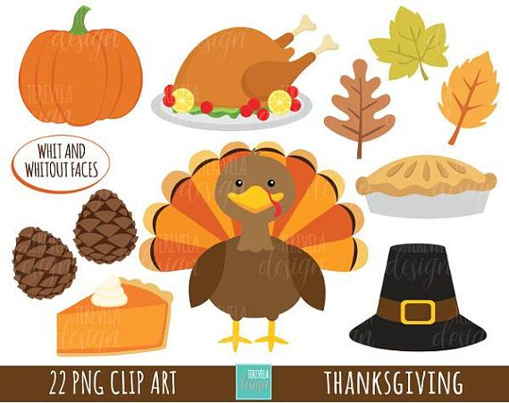 Thanksgiving Clipart Commercial Use Turkey Clipart Kawaii Etsy Thanksgiving Clip Art Thanksgiving Images Kawaii Clipart