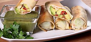 How to Make Baked Avocado Egg Rolls With 6 Ingredients