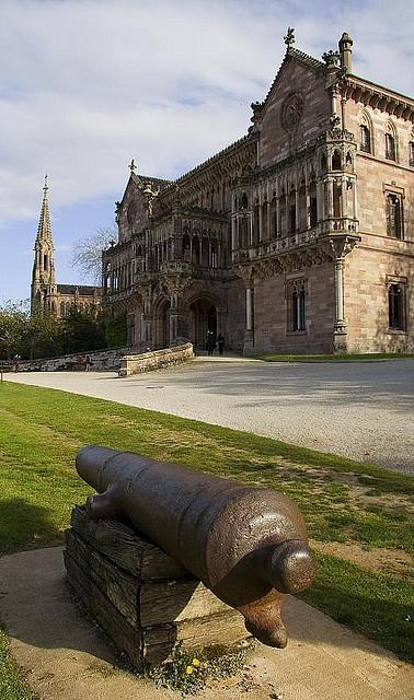 Palacio de Sobrellano , Comillas, Cantabria (España)