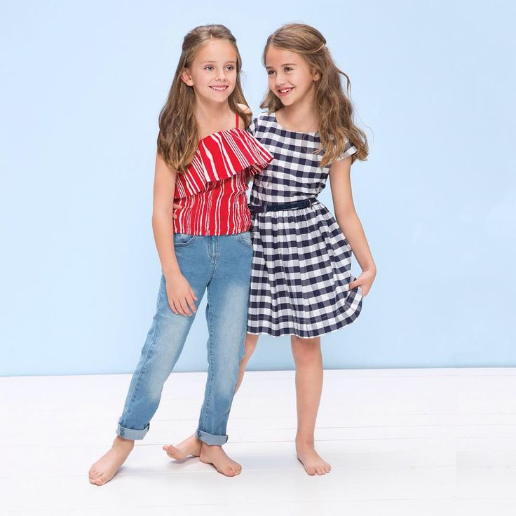 Summer sunshine is on its way and we've got pieces that are just right to soak up the sun in style! The bella holiday top pairs perfectly with jeans or shorts, while the check skater dress can be dressed up with a cardigan and ballet flats or worn with sneakers for an everyday casual look. ❤️ #pumpkinpatchkids #memoriesofvenice #kidsfashion