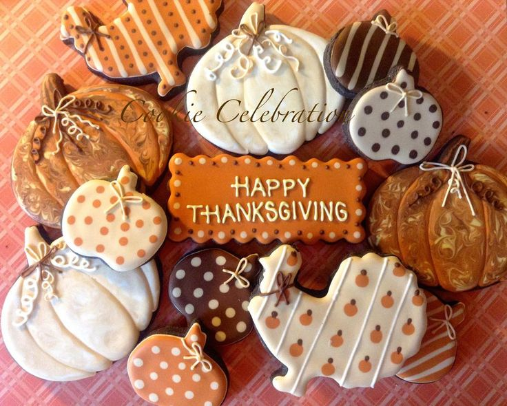 Happy Thanksgiving - Cookie Celebration | Cookie Connection