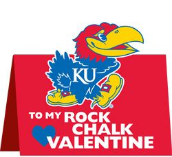 Rock Chalk Valentine
