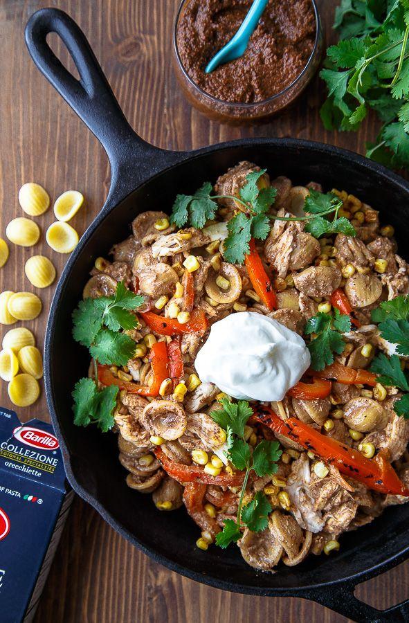 Chicken Mole Pasta Recipe