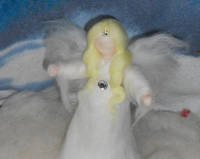 Angelo puntale di feltro, angel, felt, fairy