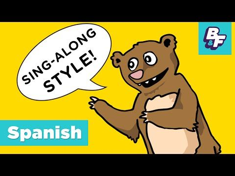 Movement Song in Spanish with BASHO & FRIENDS - Arriba Abajo, Up Down - YouTube