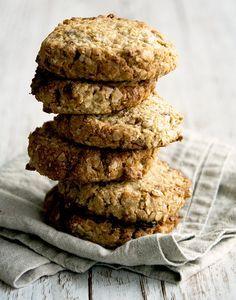 Havregryns Cookies (Recipe in Danish)