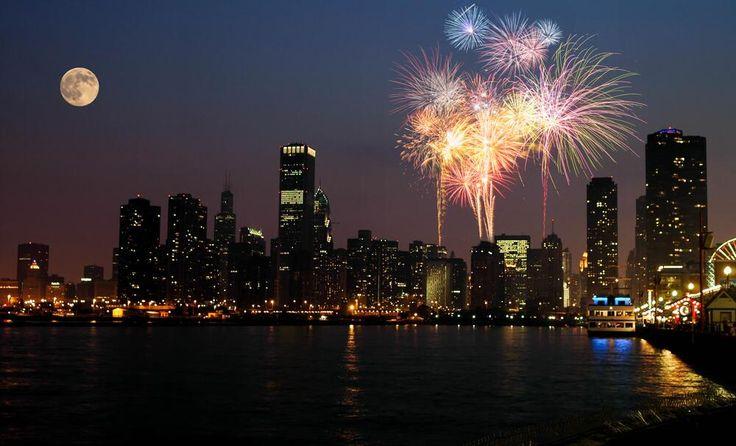 #chicago #summer #fireworks