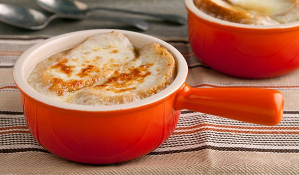 French Onion Soup - In the Kitchen with Stefano Faita