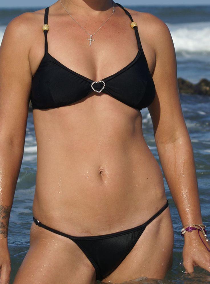 Sexy Bralet, low scoop bikini