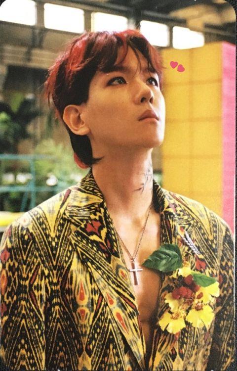 Baekhyun - 170720 'The War' album photocard - [SCAN][HQ] Credit: BBIN_2B.