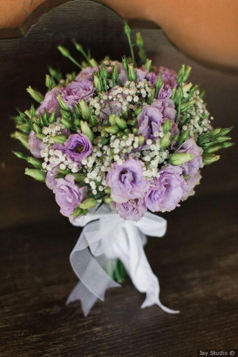 Bouquet da sposa color lilla #matrimonio #nozze #sposi #sposa #bouquet #fiori #rustichic #bohochic #tradizione #wedding #flower