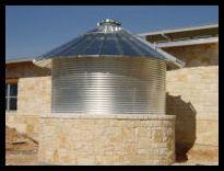 galvanized water tank