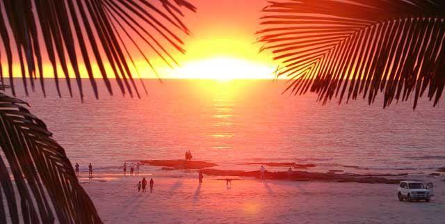Beautiful Broome sunset.
