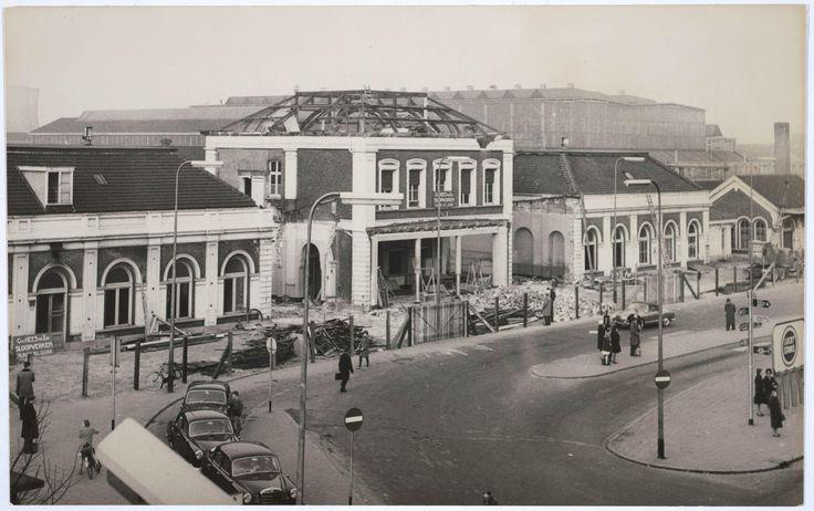 Het oude station van Tilburg
