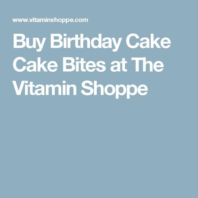 Buy Birthday Cake Cake Bites at The Vitamin Shoppe