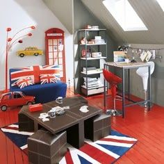 british style room, for the fans^^